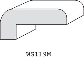 """WS119M - 3/4"""" x 1-5/8"""" (3/8"""" offset)"""