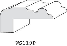 """WS119P - 3/4"""" x 1-5/8"""" (3/8"""" offset)"""