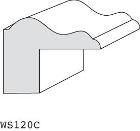 """WS120C - 1-1/8"""" x 1-1/2"""" (3/4"""" offset)"""