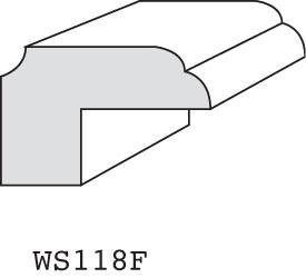 """WS118C - 3/4"""" x 1-1/8"""" (3/8"""" offset)"""