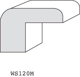 """WS120M - 1-1/8"""" x 1-5/8"""" (3/4"""" offset)"""