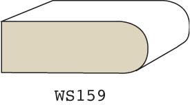 "WS159 - 1/2"" X 1-3/8"""