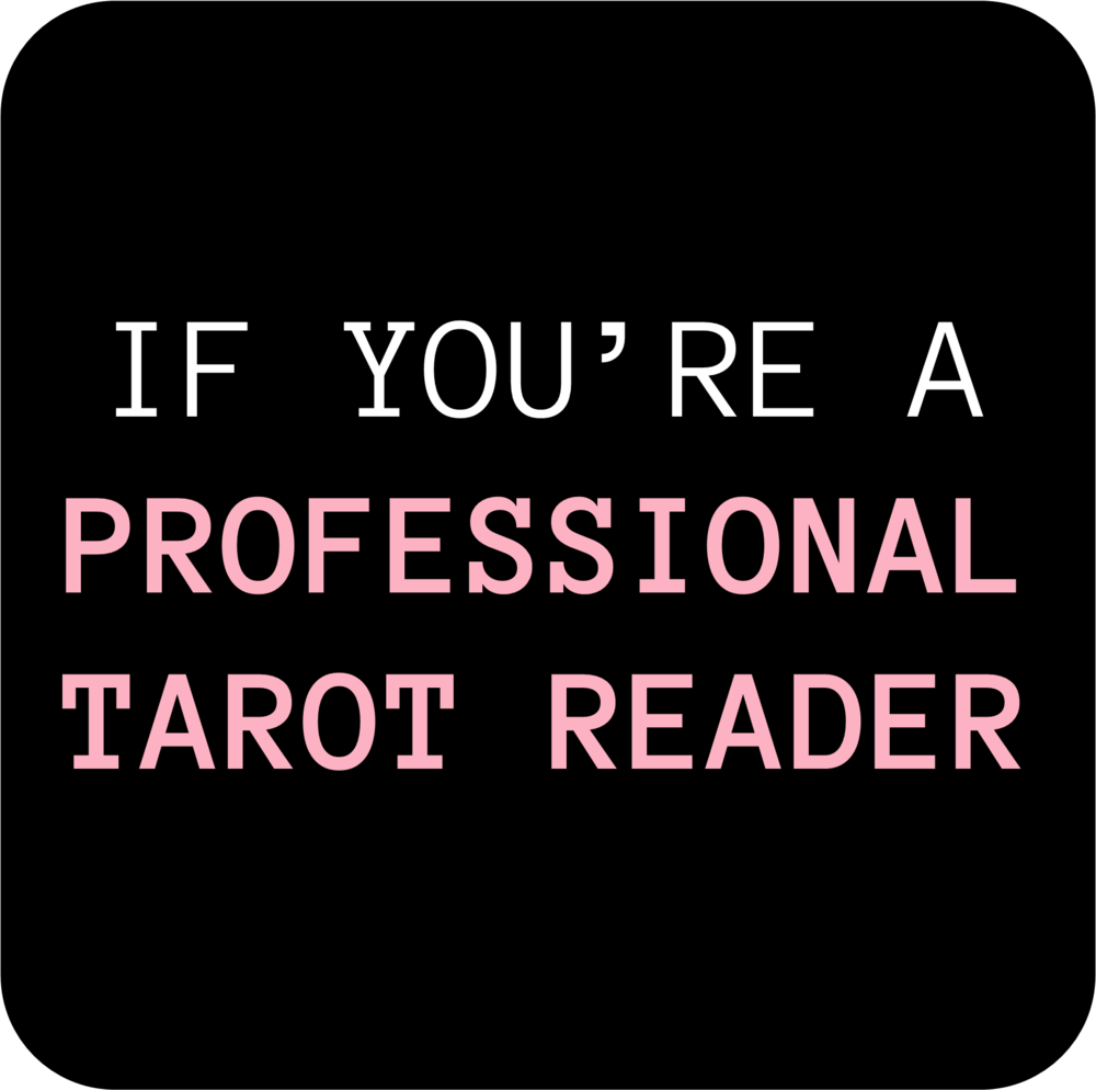 If you're a PRO READER OR ASPIRING PRO READER... - ⚙️...and you're looking to create original tarot spreads that can become unique tarot offerings ⚙️...that establish your identity as a reader + set you apart from other readers ⚙️...spreads that clearly communicate your values and your approaches to tarot  ⚙️...which will help you attract the clients that you want and build your tribe⚙️...and if your spread offerings don't immediately appeal to a client, you want to be equipped with the skills to create customized spreads to address their needs & make your client feel extra special! Then this add-on is for you! Embark on THE TAROT PRO'S QUEST to unlock this add-on. 🗝️