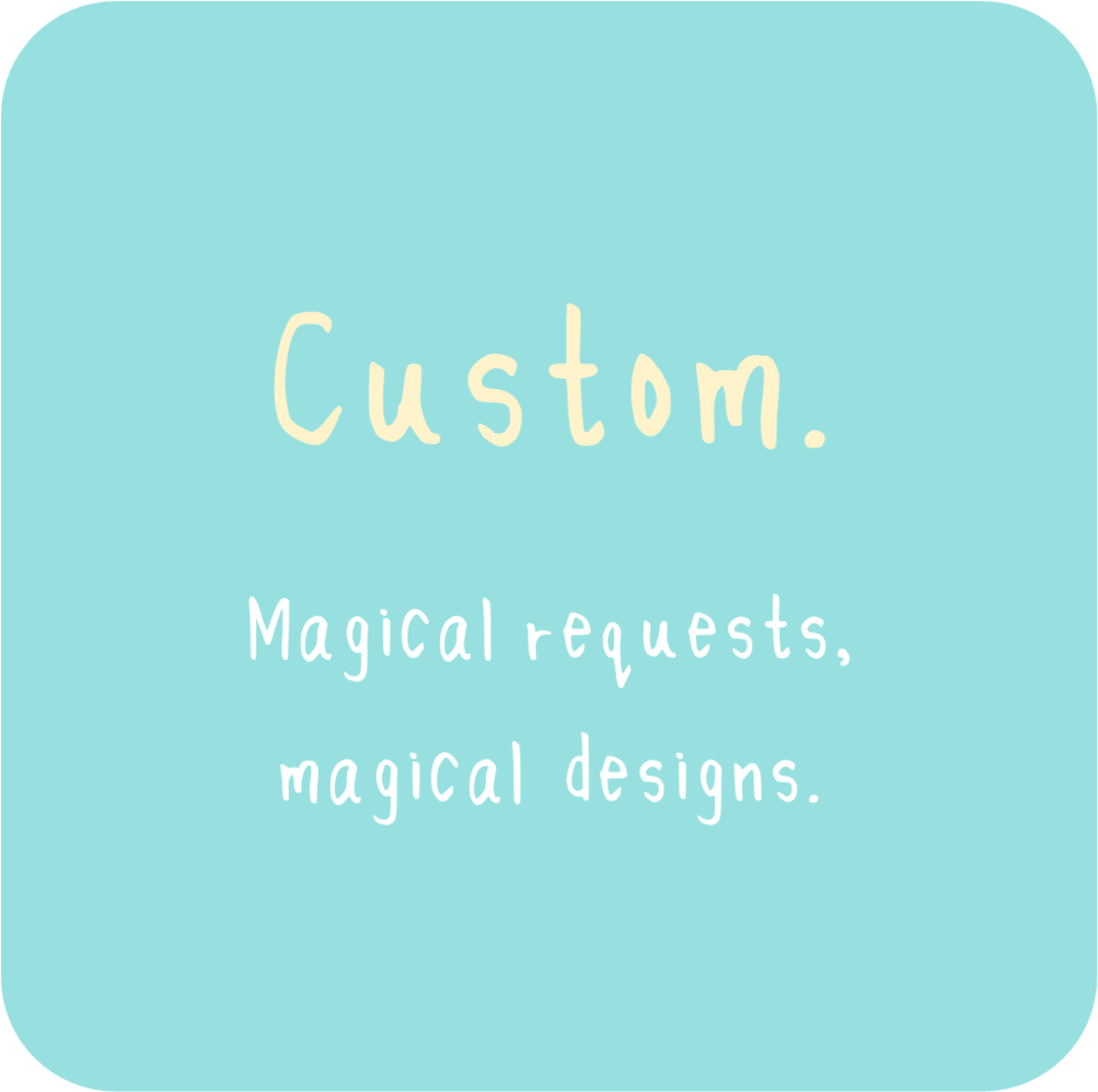 Magical requests, magical designs.  - A tarot reading made just for you!