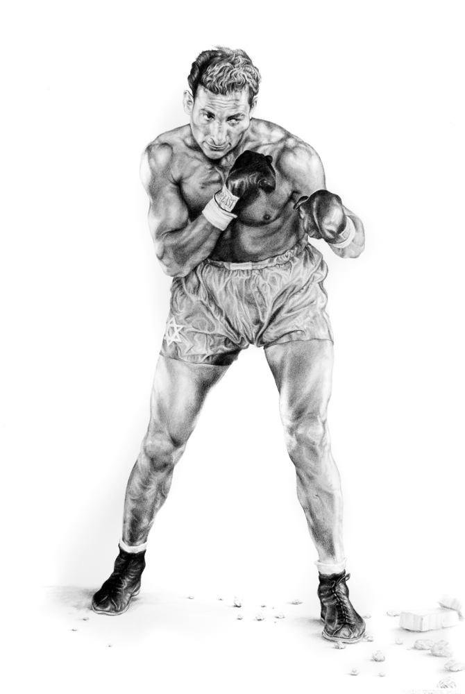 AMERICA'S FINEST 2012 graphite on paper  40 x 26 inches