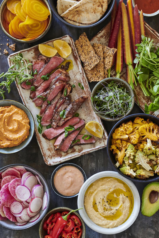Mediterranean Lunch Table