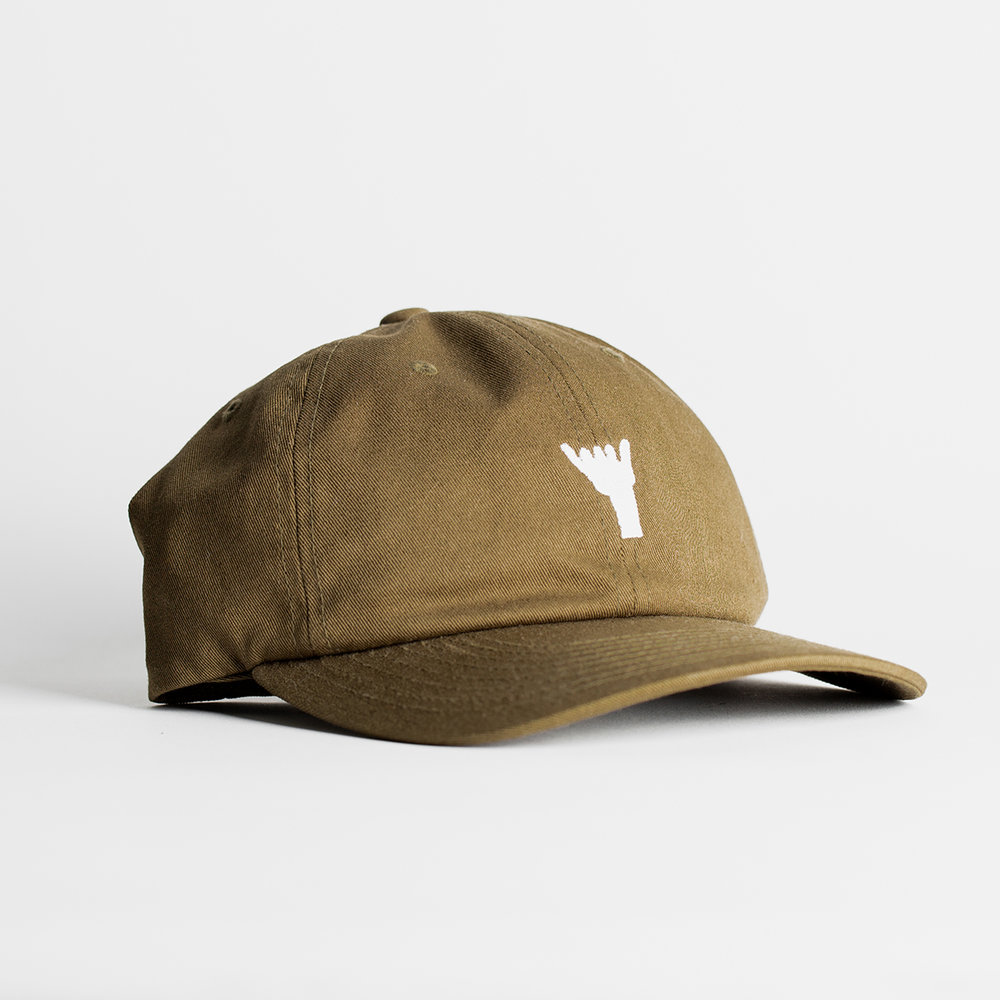 Shaka Dad Hat (Olive) — Sessions West Coast Deli 81e04d13c23