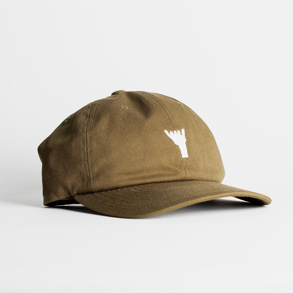 Shaka Dad Hat (Olive) — Sessions West Coast Deli 81e04d13c23