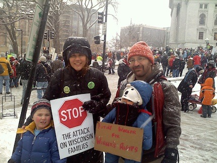 Protesting Act 10-2011
