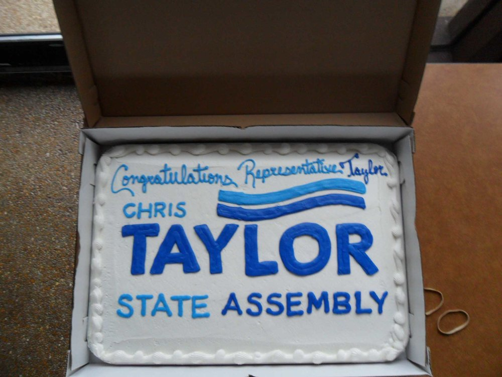 Chris Taylor Celebration Cake
