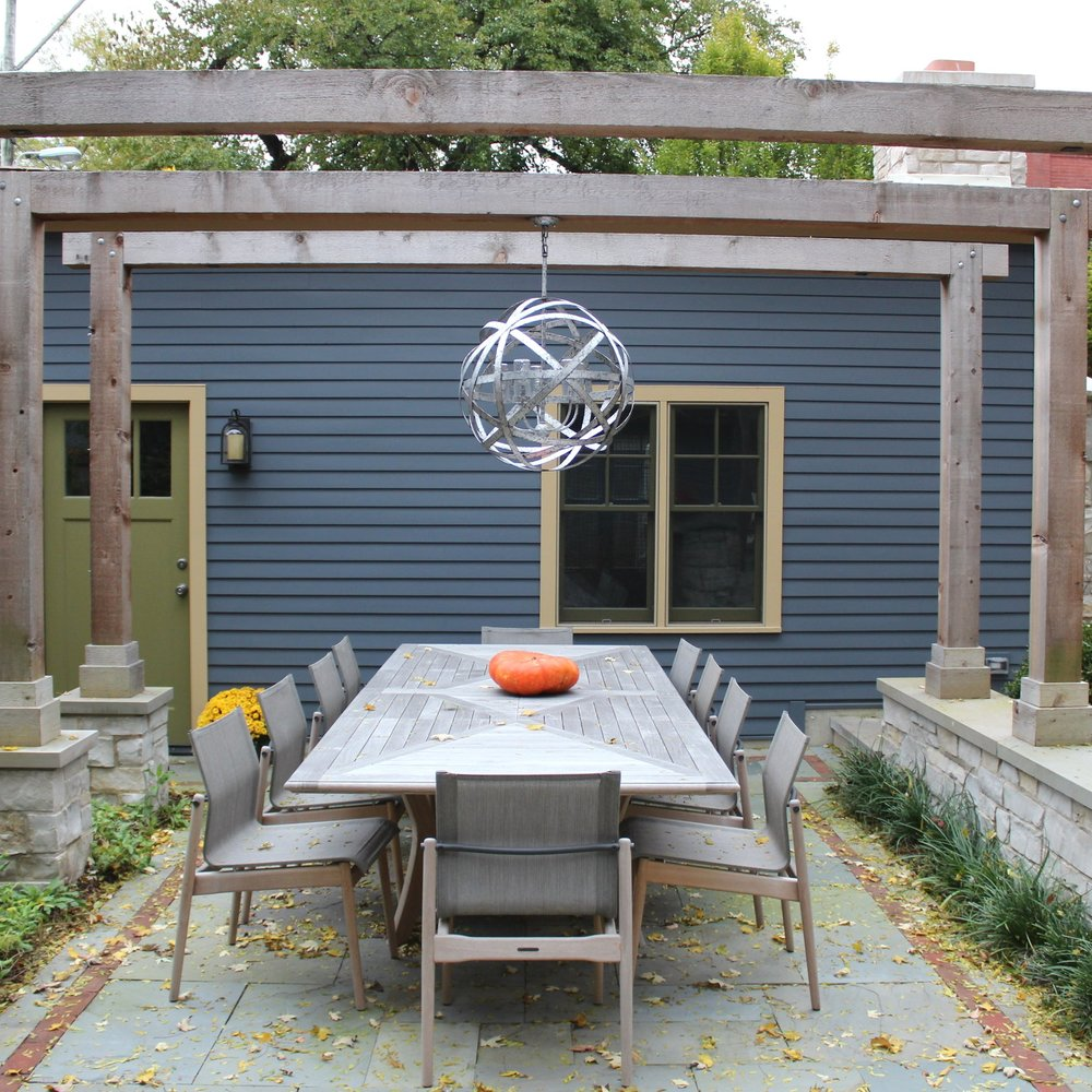 ULTIMATE OUTDOOR DINING  Residential Design + Build  Andersonville, Chicago