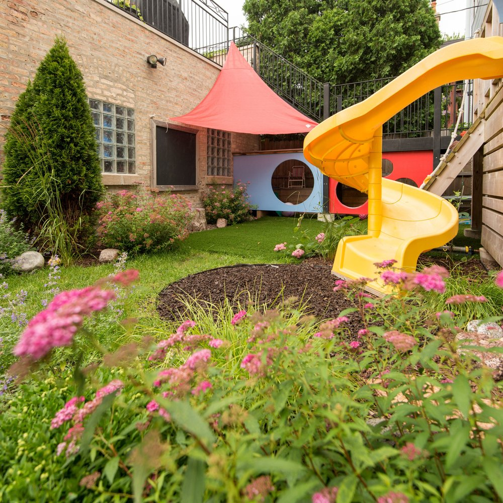 BACKYARD PLAY PLACE  Residential Design + Build  North Center, Chicago