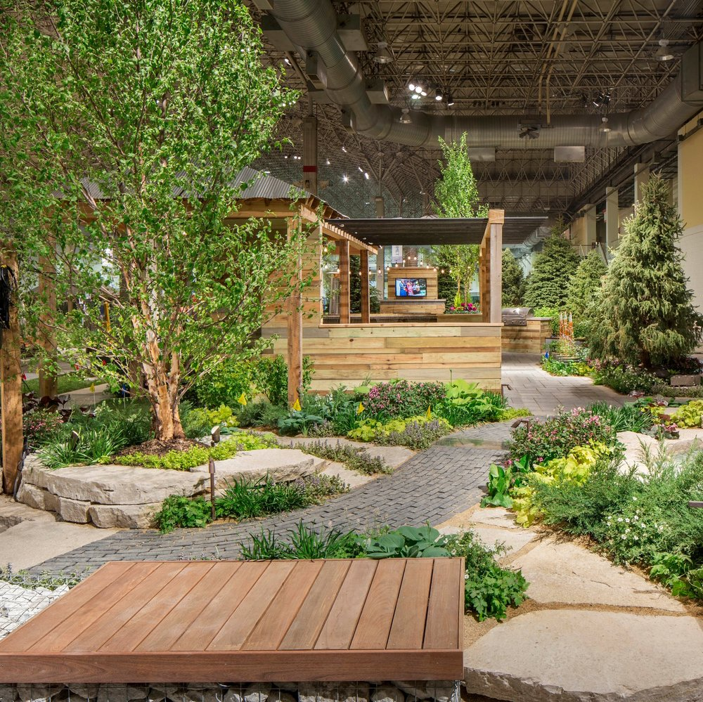 CITY LINE CROSSING: 2016 FLOWER & GARDEN SHOW  Landscape Design + Build  Chicago, Illinois