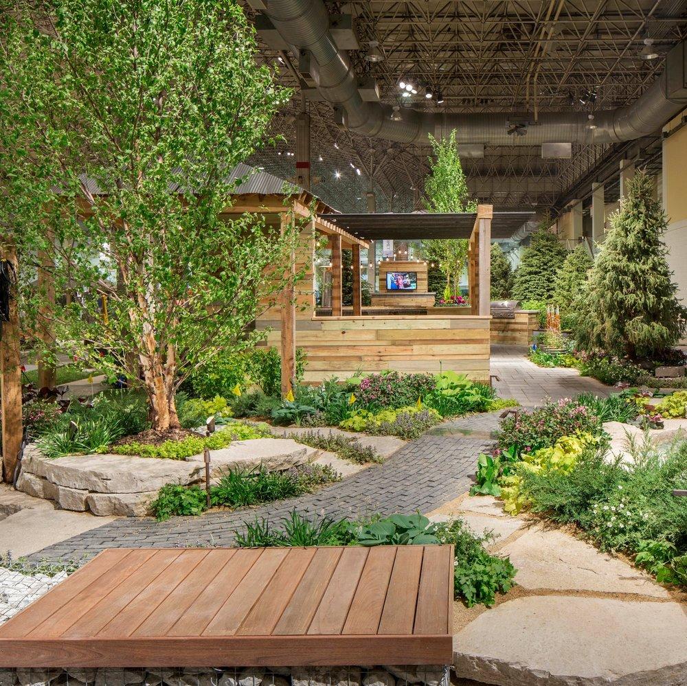 CITY LINE CROSSING: 2016 FLOWER & GARDEN SHOW  Landscape Design + Build  Chicago, Illinois
