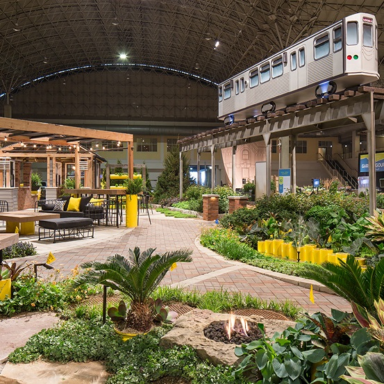 2017 FLOWER & GARDEN SHOW  Landscape Design + Build  Chicago, Illinois