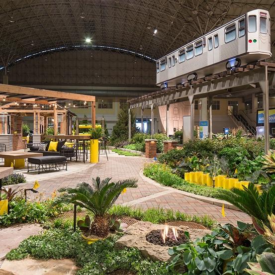 2017 FLOWER & GARDEN SHOW  Landscape Design + Build  Chicago, Illinois