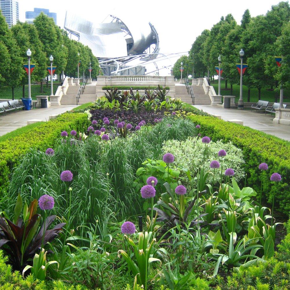 MILLENNIUM PARK  Landscape Green Roof + Park Construction  Chicago, Illinois