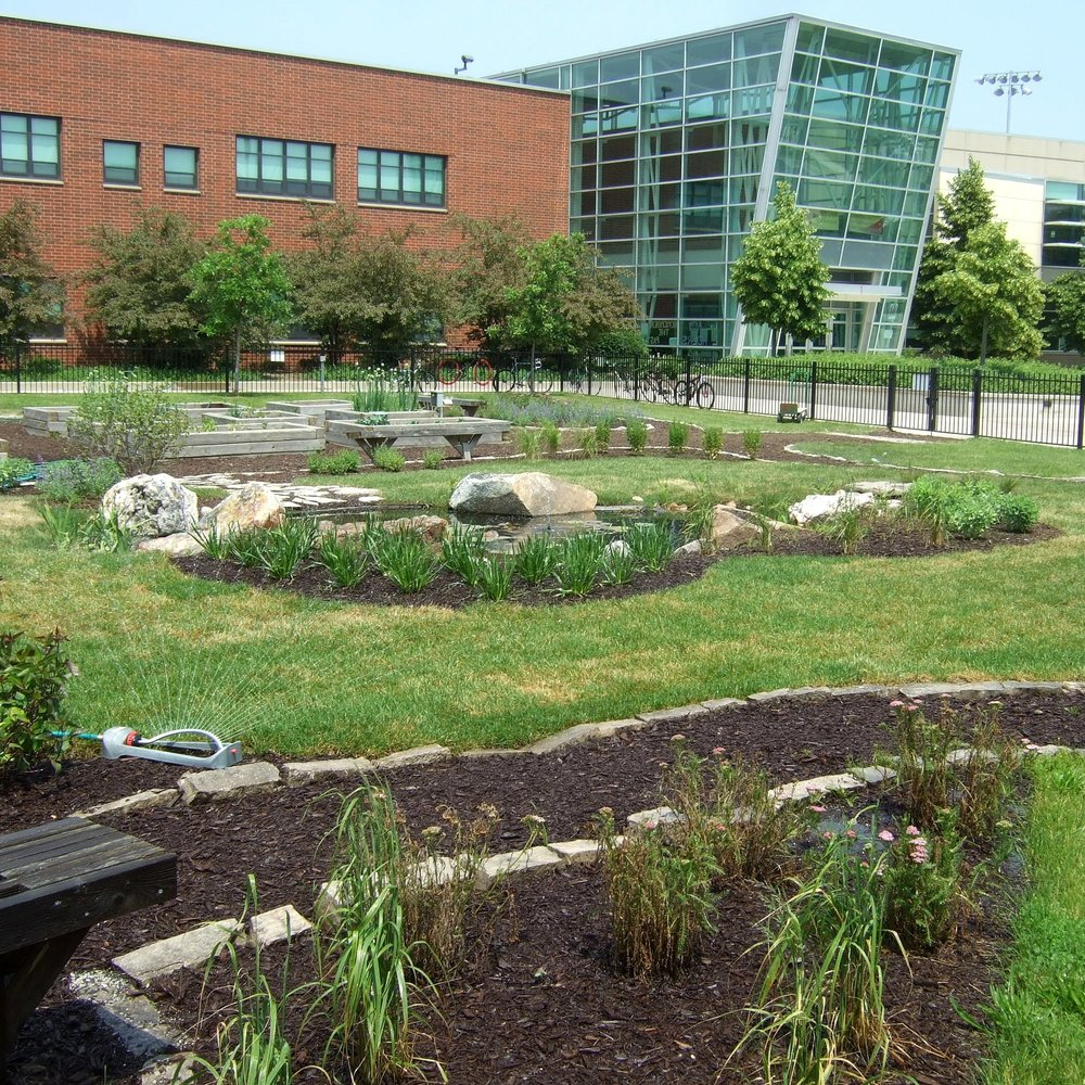 NORTH GRAND HIGH SCHOOL  Landscape Construction + Maintenance  Chicago, Illinois