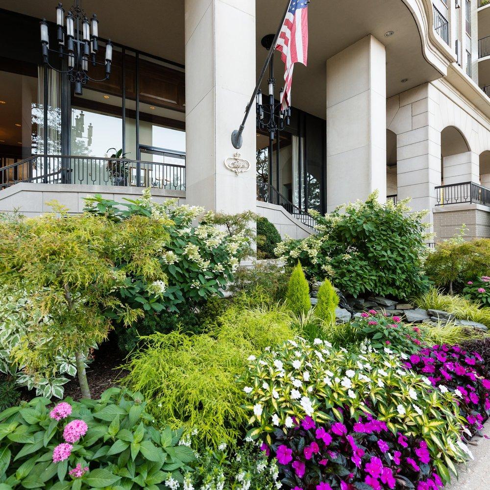 THE CARLYLE  Landscape Enhancements  Chicago, Illinois