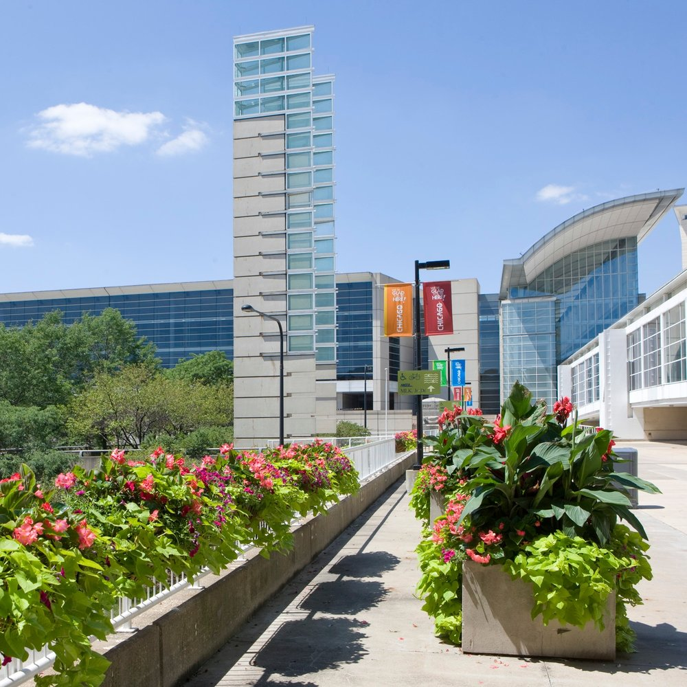 McCormick PLACE  Landscape Enhancements + Maintenance  Chicago, Illinois