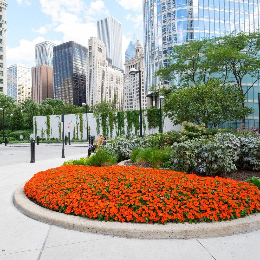 RIVERSIDE PLAZA  Landscape Enhancements + Maintenance  Chicago, Illinois