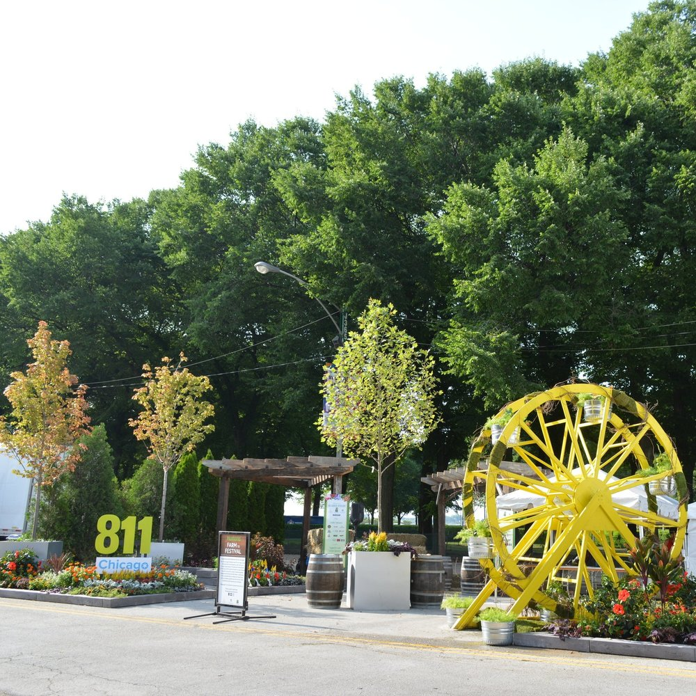 FARM-TO-FESTIVAL: TASTE OF CHICAGO  Landscape Design + Build  Chicago, Illinois