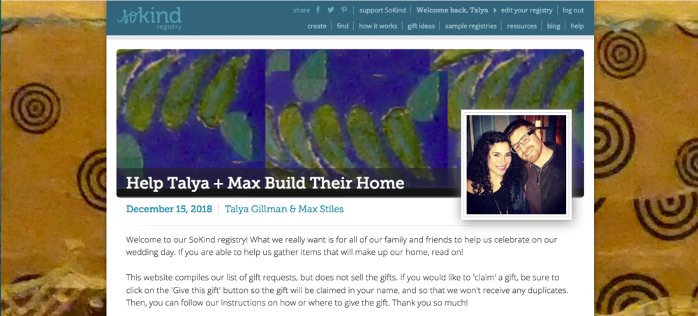 Help Us Build Our Home Max Talya Get Married
