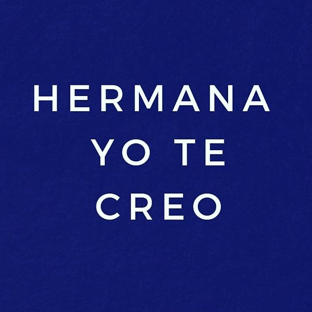 #hermanayotecreo -  Today we stand with all women that have shared their stories of sexual assault. People may ask me how this is in any way related to sola travel and the truth is we can not travel, we can not live .. if we are not FREE. Fuera con el machismo fuera con la violencia contra las mujeres. VIVAS NOS QUEREMOS. ❤ queremos crear un mundo donde todas podemos viajar y vivir FELIZ.