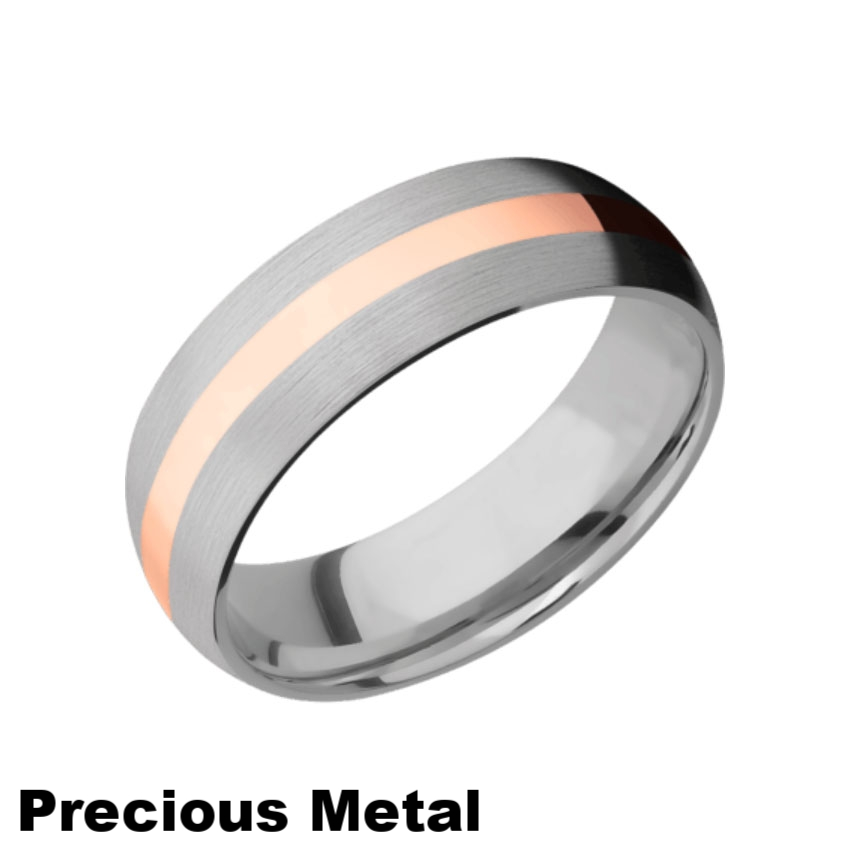 Precious Metal Inlay