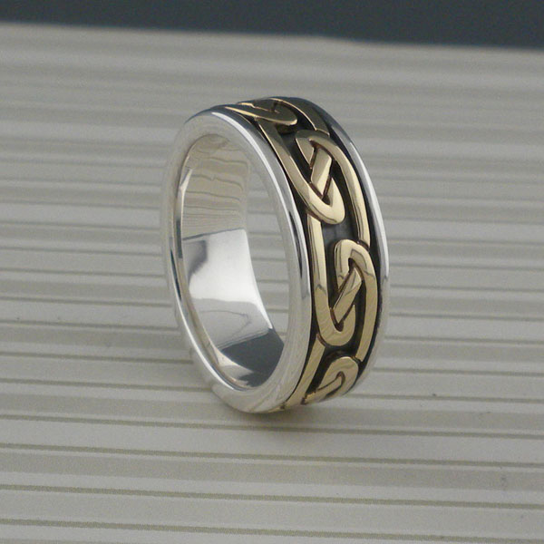 Celtic Eternity Knot Wedding Ring