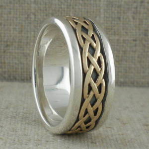 Celtic Unique Celtic Wedding Rings