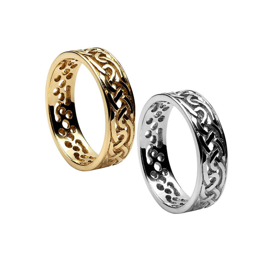 Men's Celitc Knot Wedding Ring
