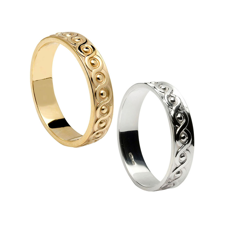 Men's Celtic Continuity Wedding Ring