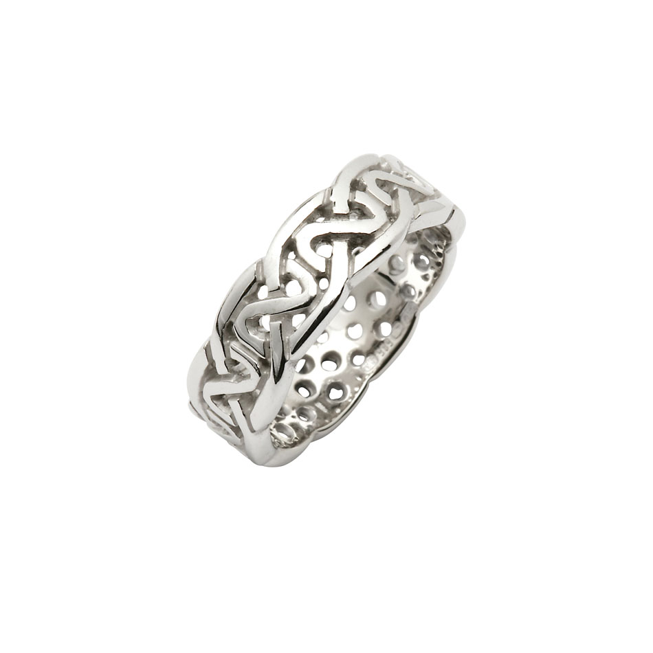Ladies Celtic Knot Wedding Ring