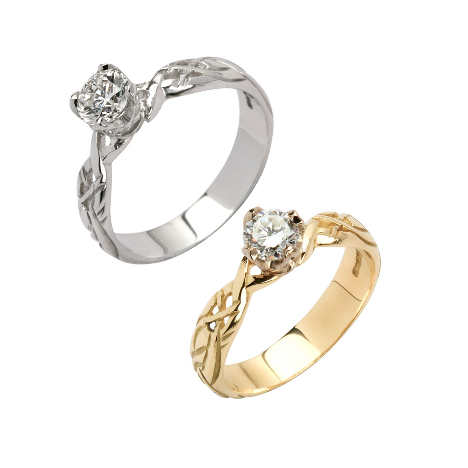18K Livia Engagement Ring