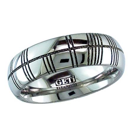 Custom Ogham Wedding Ring