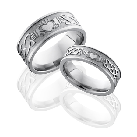 Celtic Claddagh Wedding Ring