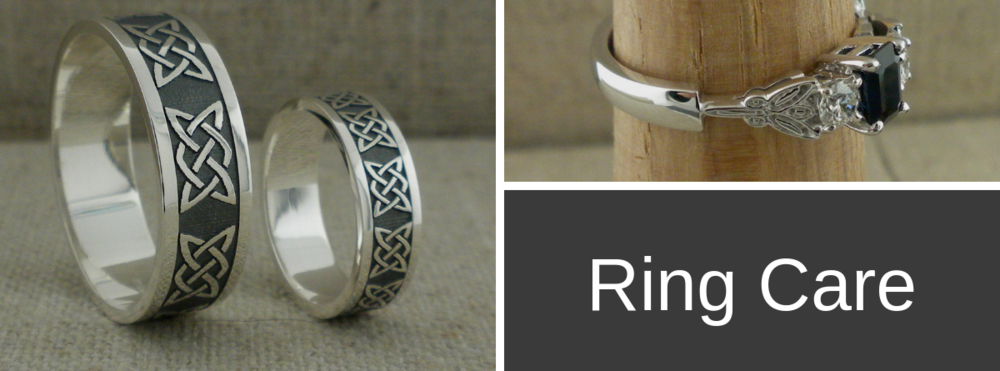 Ring Care for Sterling Silver & Gold Wedding Rings