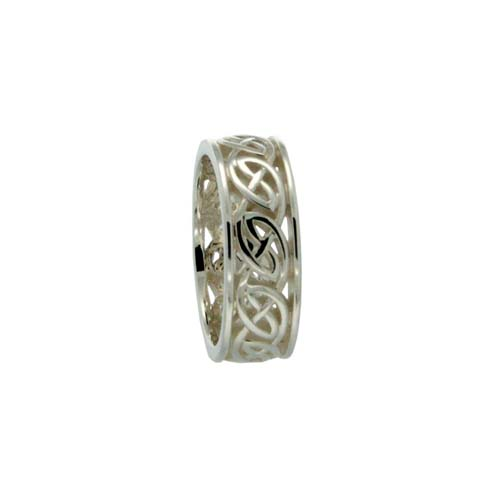 Ness Celtic Knot Wedding Ring