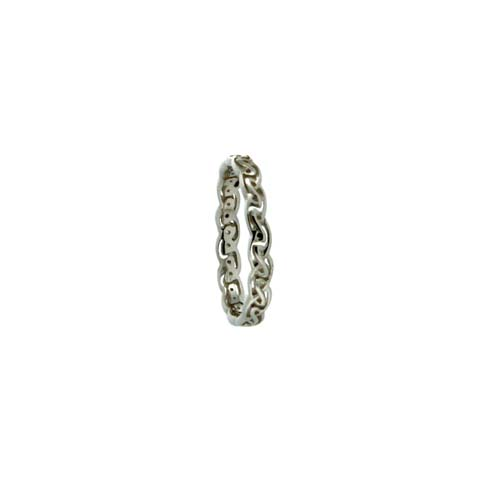 Narrow Celtic Knot Wedding Ring