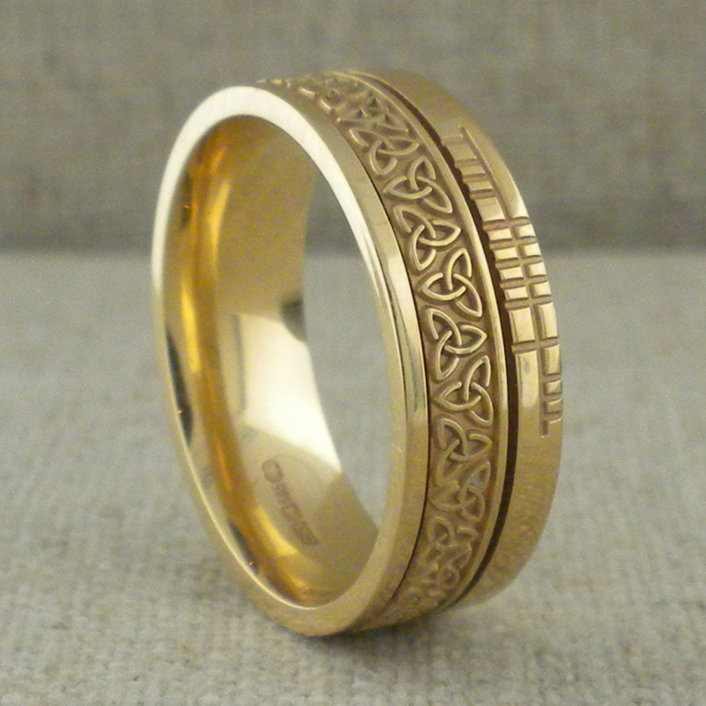 Irish Faith Collection Wedding Rings