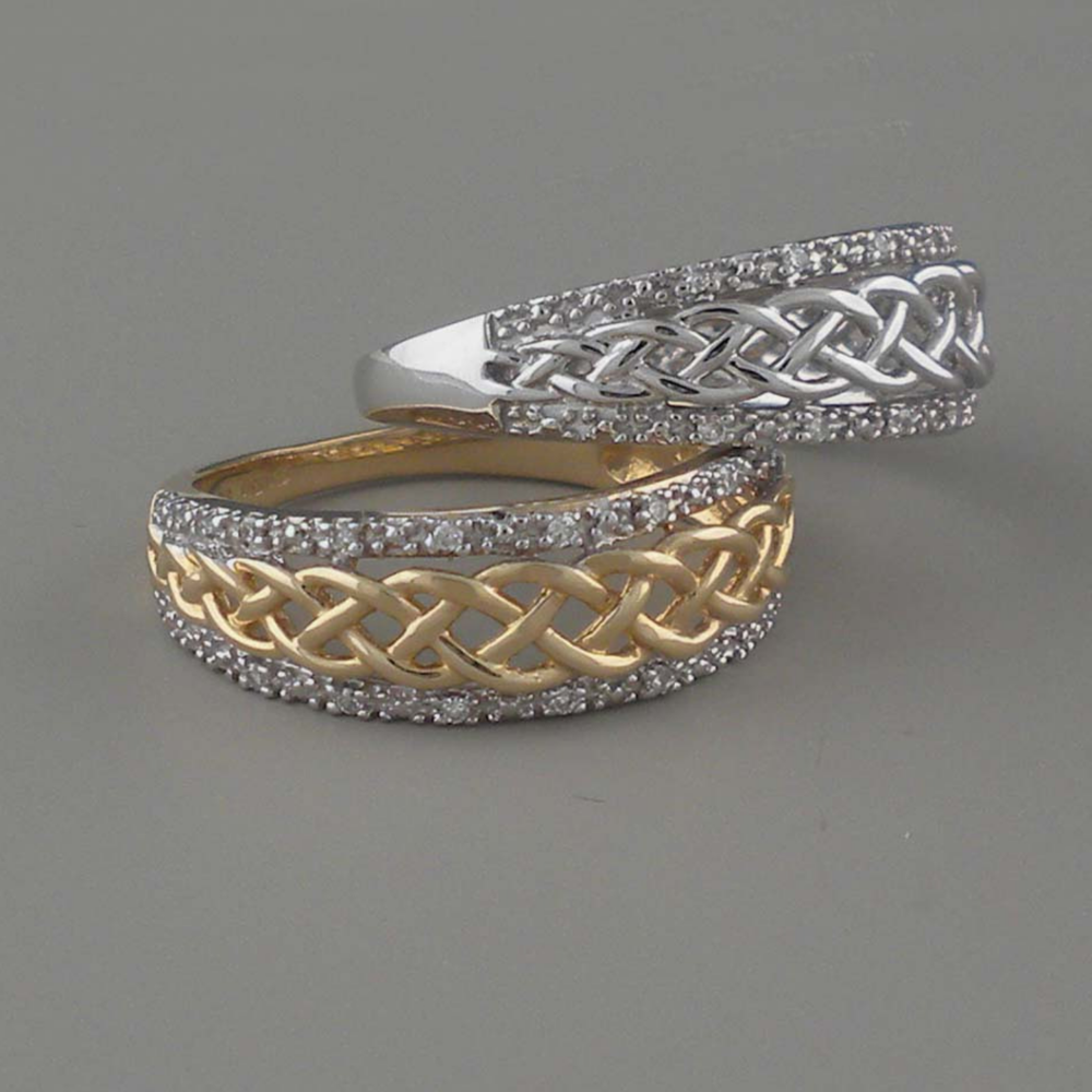 Irish Wedding Ring by Shanore