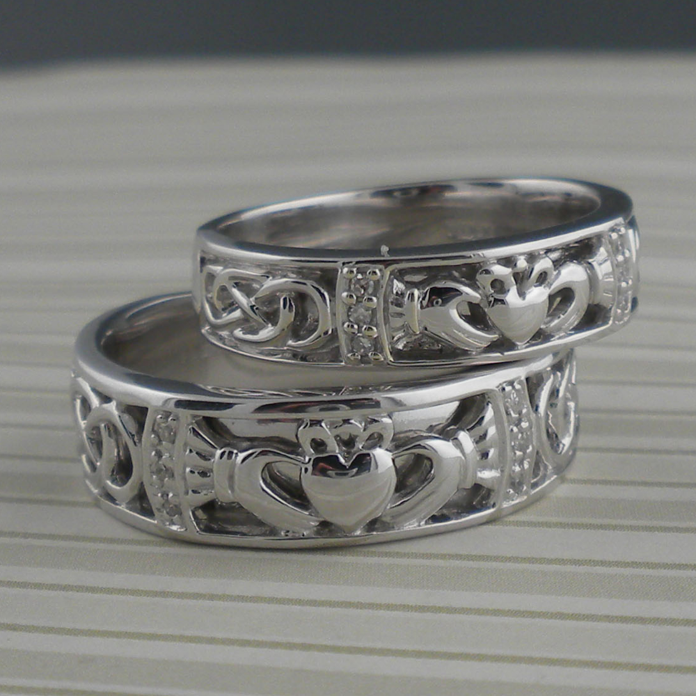 Irish Claddagh Wedding Ring