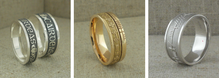 Boru Wedding Rings
