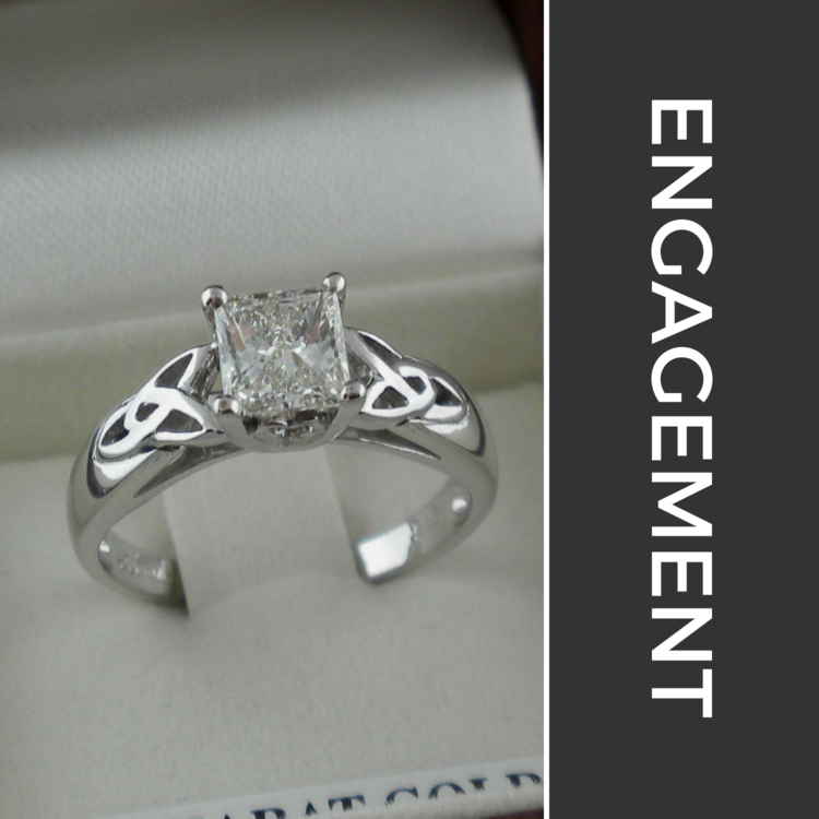 Irish and Celtic Engagement Rings