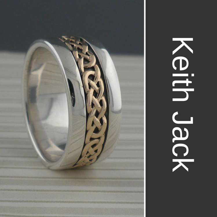 Keith Jack Wedding Rings