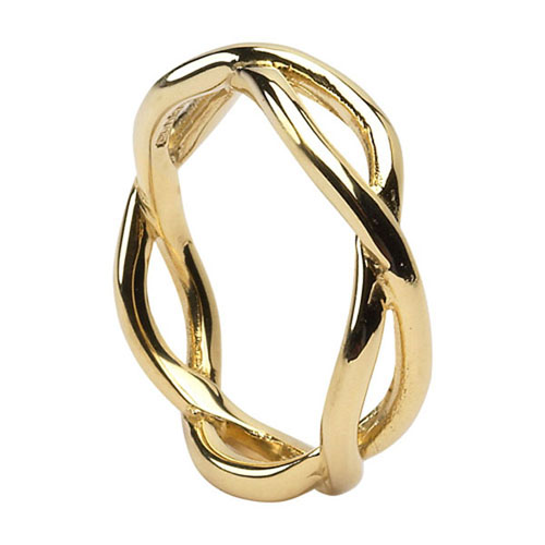 82365be4a2b Men s Celtic Infinity Knot Wedding Ring — Unique Celtic Wedding Rings