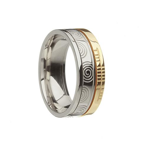 Celtic Newgrange Wedding Ring by