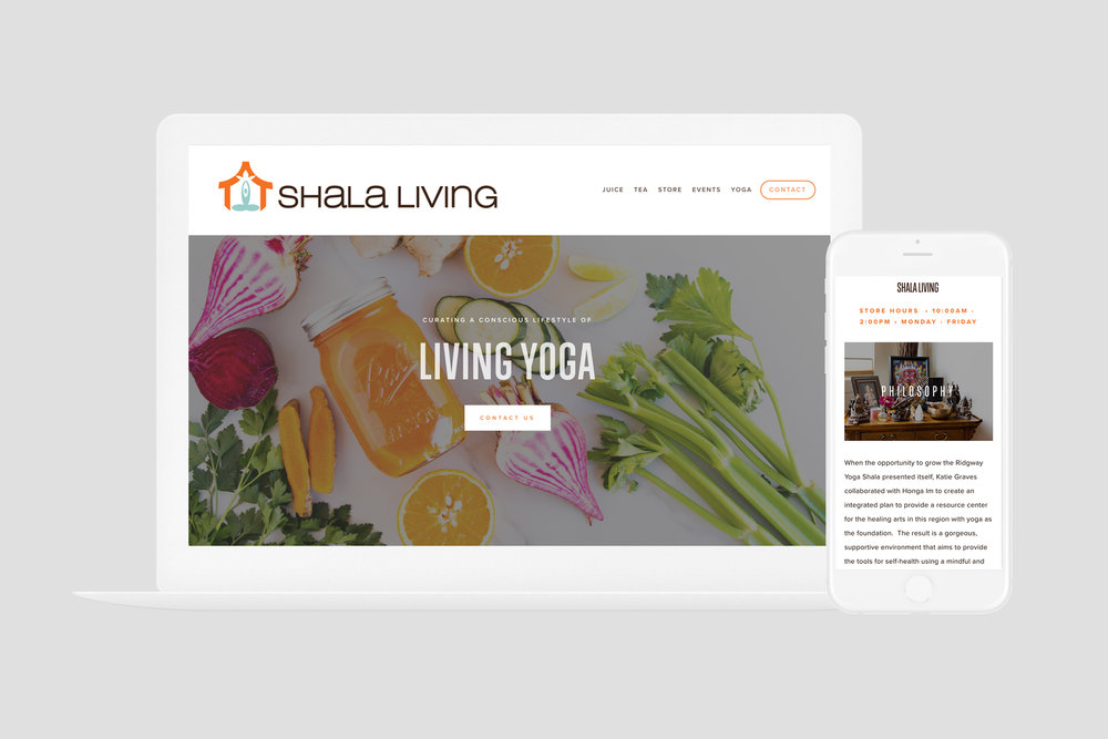 We took all the photography for the Ridgway Yoga Shala website