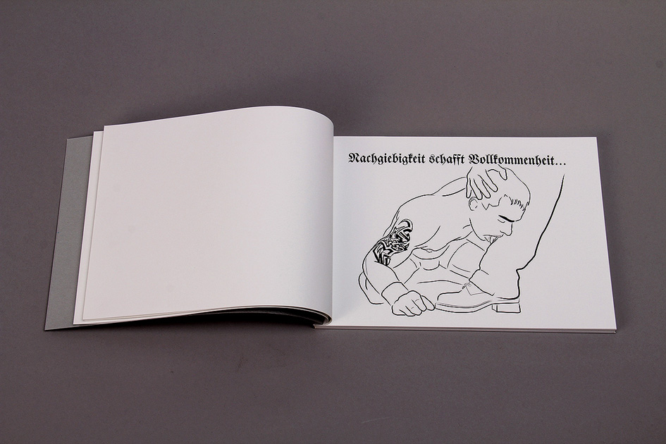 Die Deutsche Reihe / German Series (2010-2012) /  Book.  Arta Editores. Buenos Aires 2011 (German/Spanish)